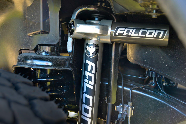 Falcon Shocks, amortisseur haut de gamme pour Jeep JK